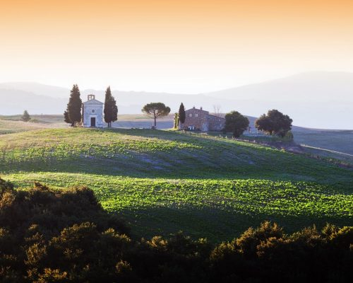 A day in the Val d'Orcia